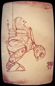 sunday sketch 67 by terry whidborne